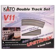 KATO KAT-208-70 - Kato : N Track V11 Double Track Set