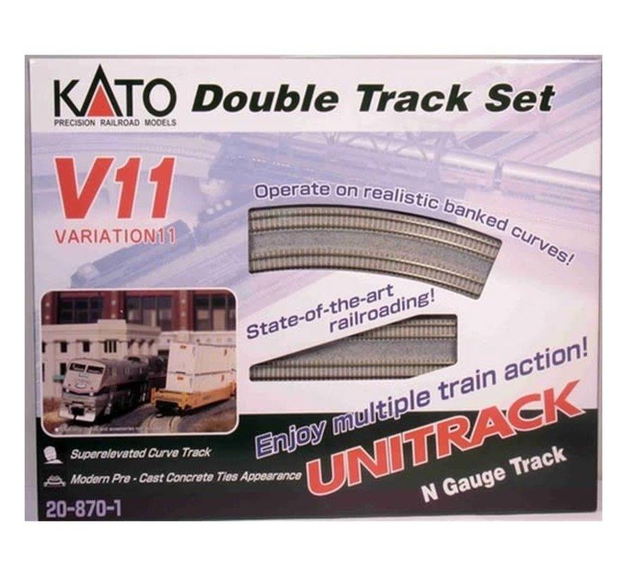 Kato : N Track V11 Double Track Set