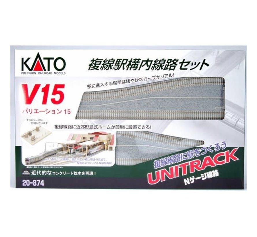 Kato : N Track V15 Double Track  Set