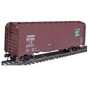WALTHERS WALT-910-1654 - Walthers : HO 40ft Boxcar CN