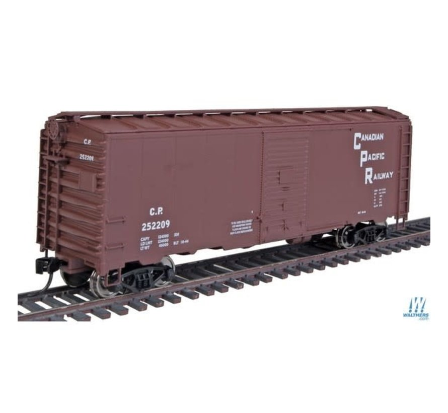 Walthers : HO 40ft Boxcar CP