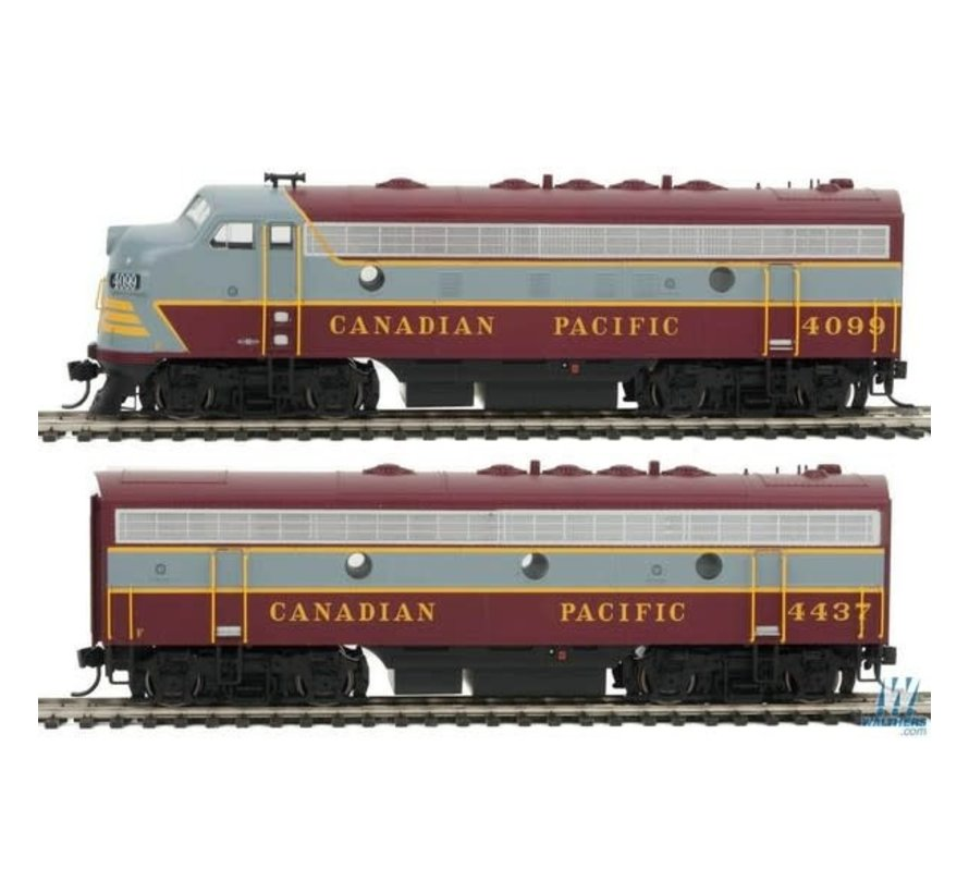 Walthers : HO F7A-B DCC CP #4099, 4437
