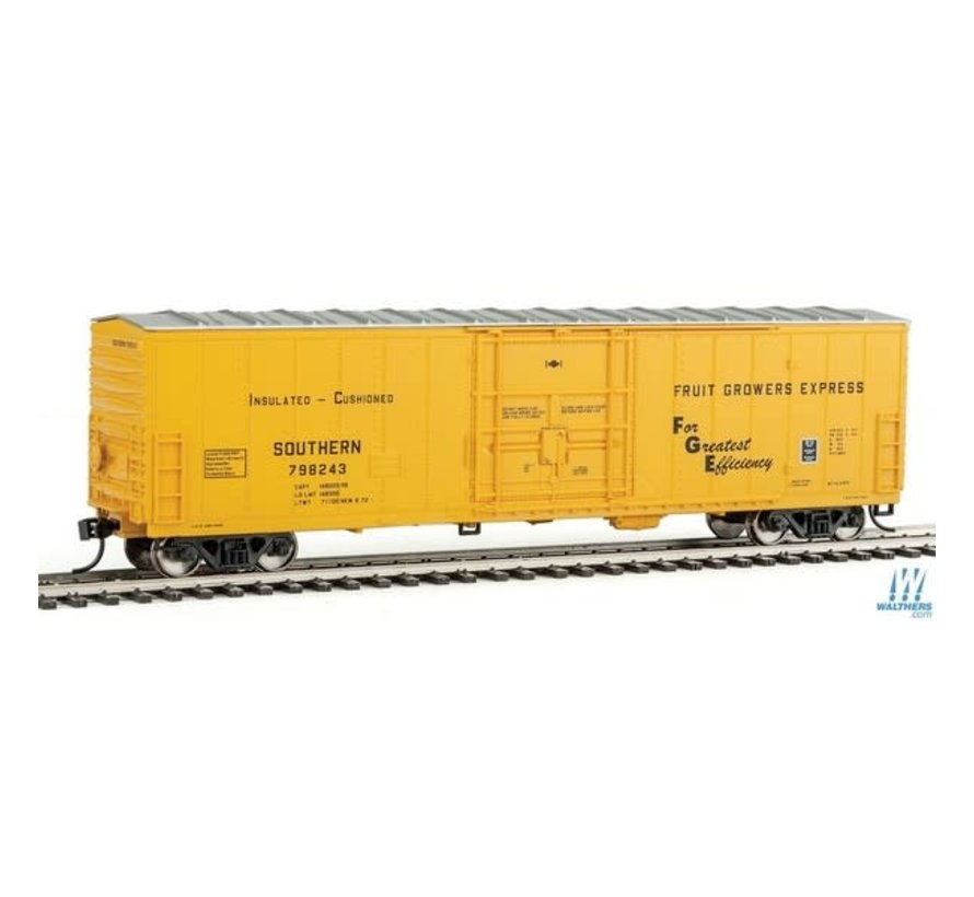 Walthers : HO 50' FGE Insulated Boxcar -Southern Railway #798243