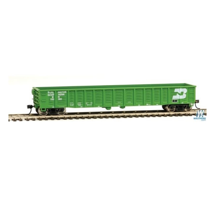 Walthers : HO 53 ft flat BN