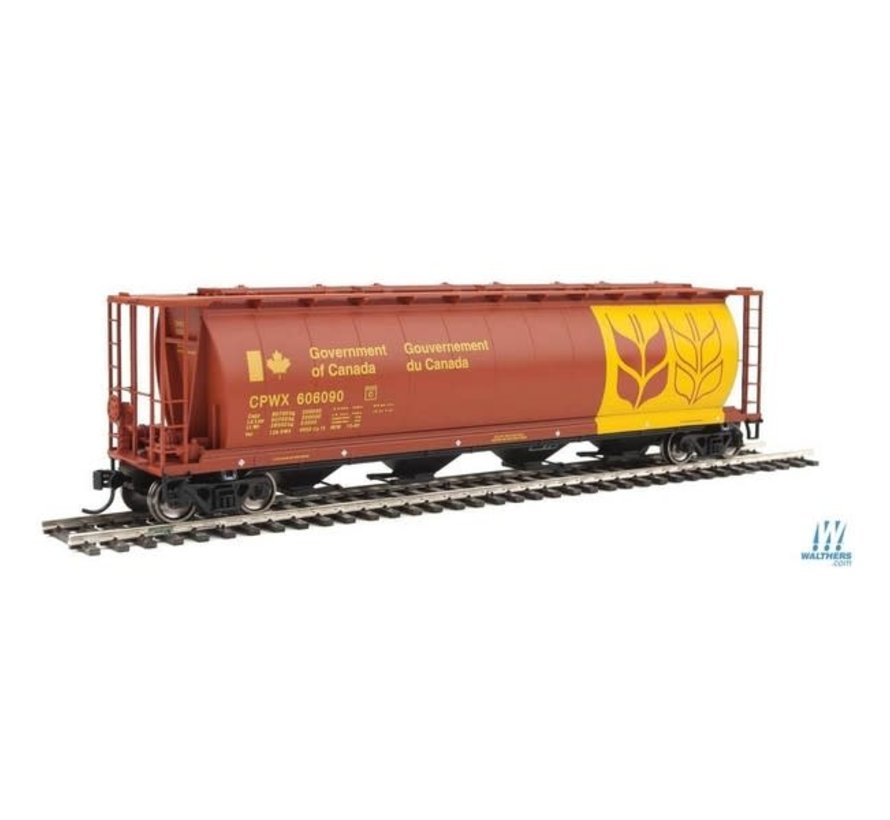 Walthers : HO 59' Cyl Hpr CPWX 606090