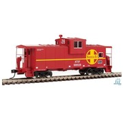 WALTHERS WALT-910-8701 - Walthers : HO ATSF Ext. Wide cab Caboose