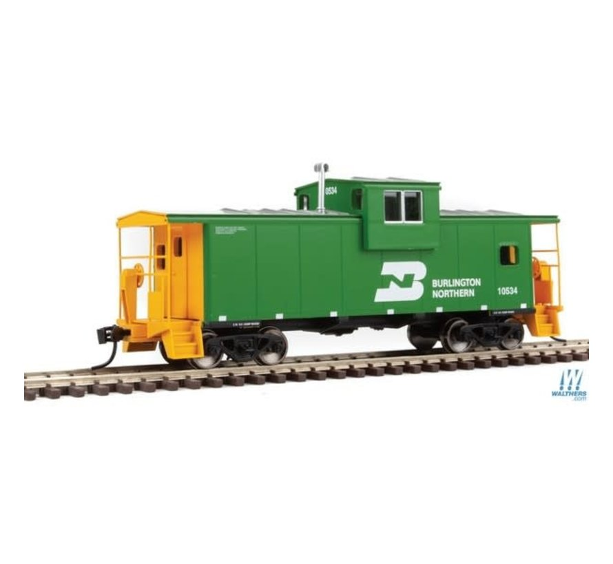 Walthers : HO BN Ext. Wide cab Caboose