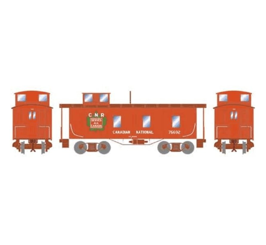 Copy of Athearn : N CN 30' 3-Window Caboose #76692