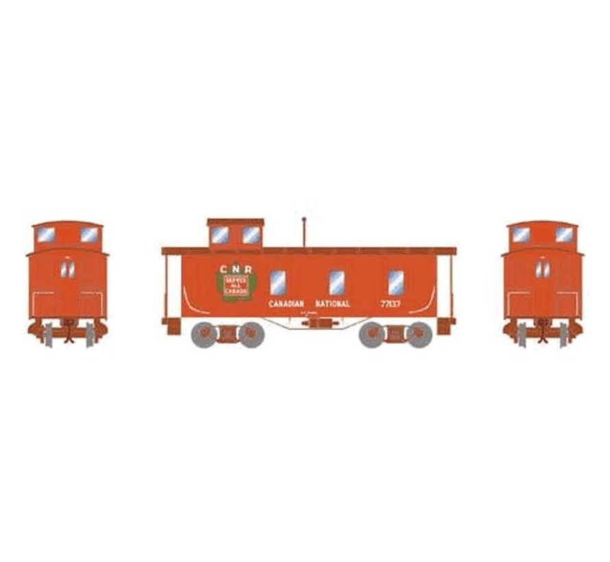 Athearn : HO CN 30' 3-Window Caboose #77137