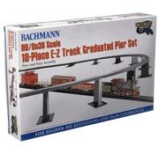 BACHMANN BAC-44595 - Bachmann : HO EZ TrackGraduate Piers