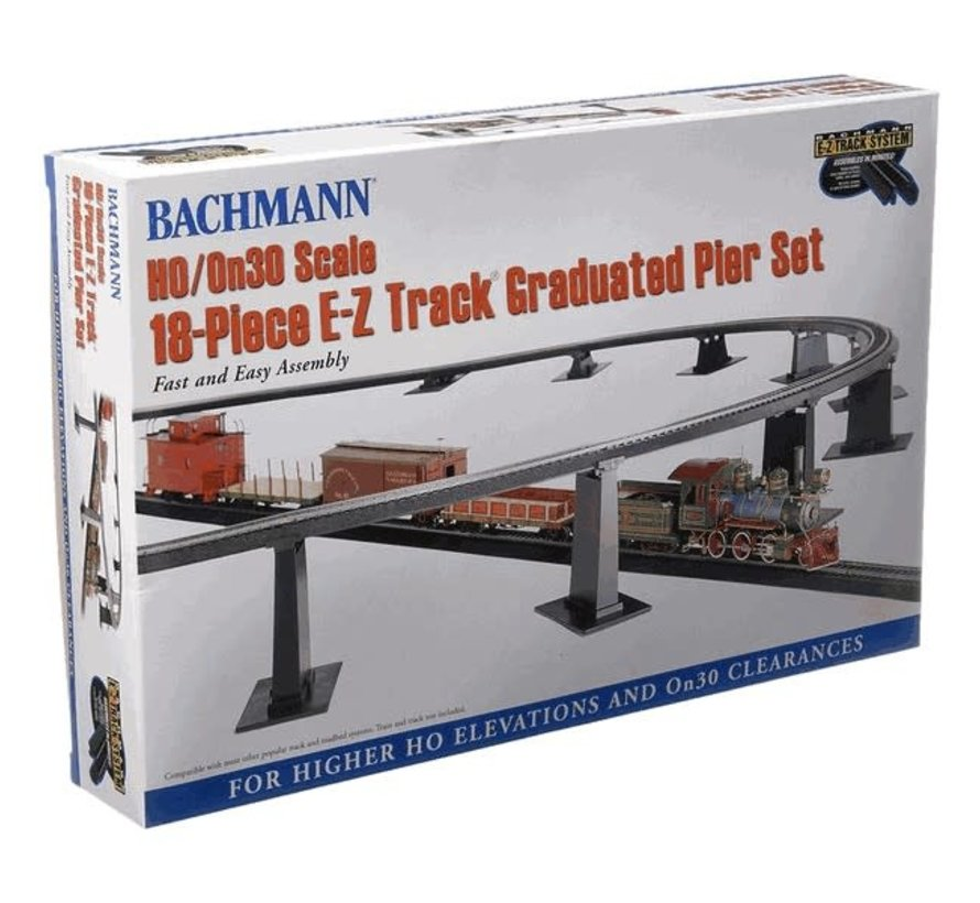 Bachmann : HO EZ TrackGraduate Piers