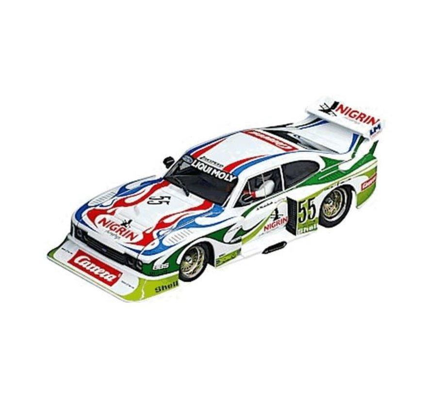 """Carerra : DIG124 Ford Capri Zakspeed Turbo """"Liqui Moly Equipe, No.55"""""""