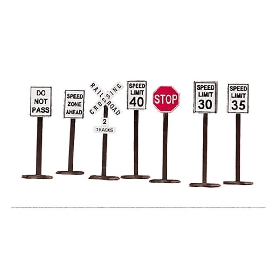 MTH : O Road Signs