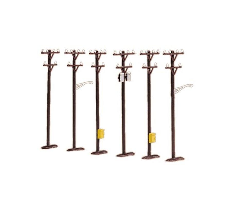 MTH : O Telephone Pole Set