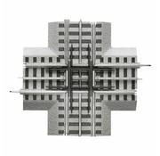 LIONEL LNL-6-12019 - Lionel : O FasTrack Crossover 90 Deg