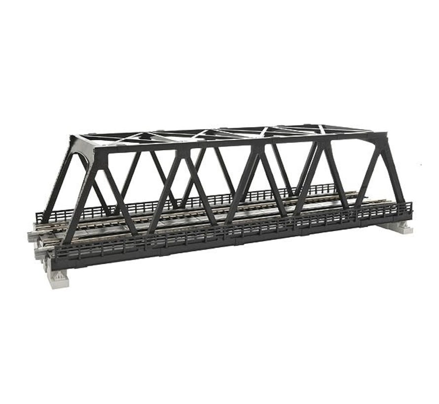 Kato : N Track 248 Double Truss Bridge Black