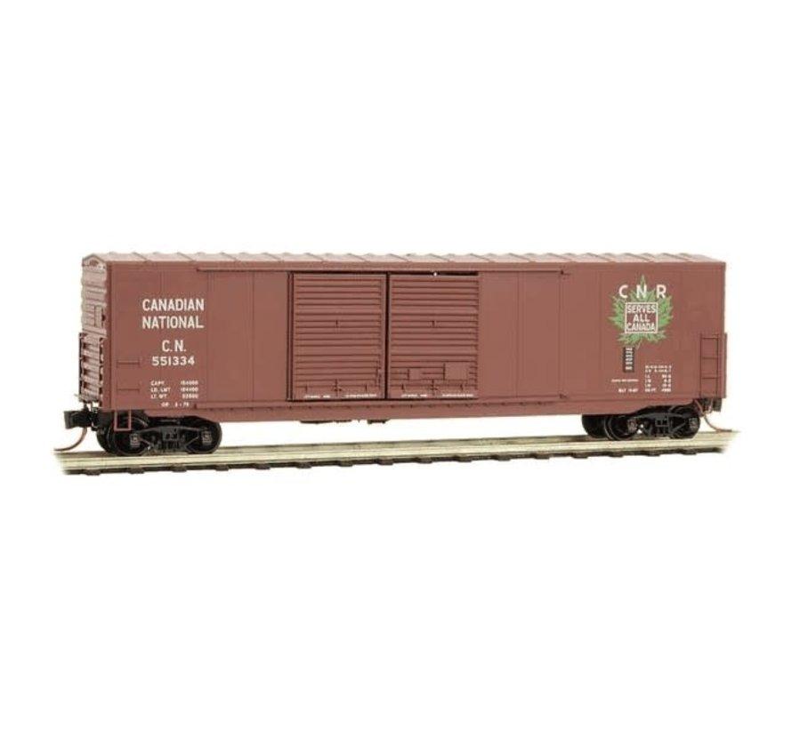 Micro-Trains : N 50' DD Box CN #551334