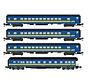 Micro-Trains : Z VIA Pass Car (4 pack)