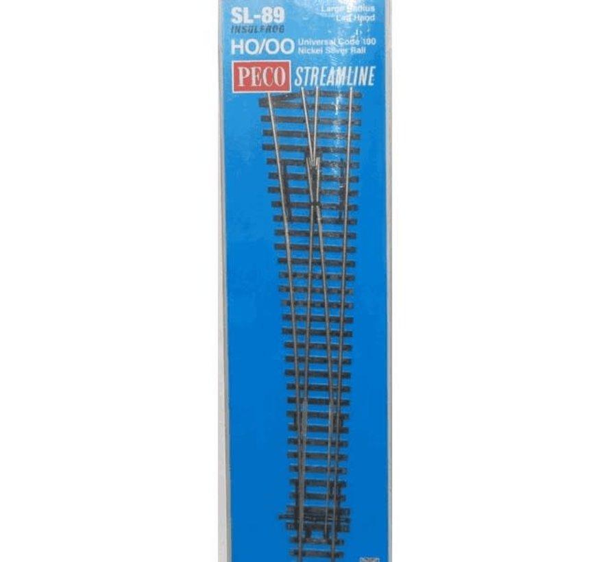 PECO : HO SL89 C100 Lrg R T/O #8 LH