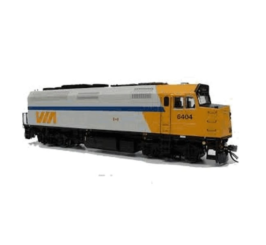 Rapido : HO F40PH-2D DCC-Sound Via #6404