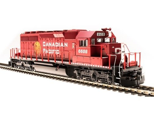 BROADWAY Broadway : HO P3 SD40-2 CP #6604/Golden Beaver/DC/DCC Sound