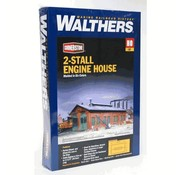 WALTHERS WALT-933-3007 - Walthers : HO 2-stall Engine house