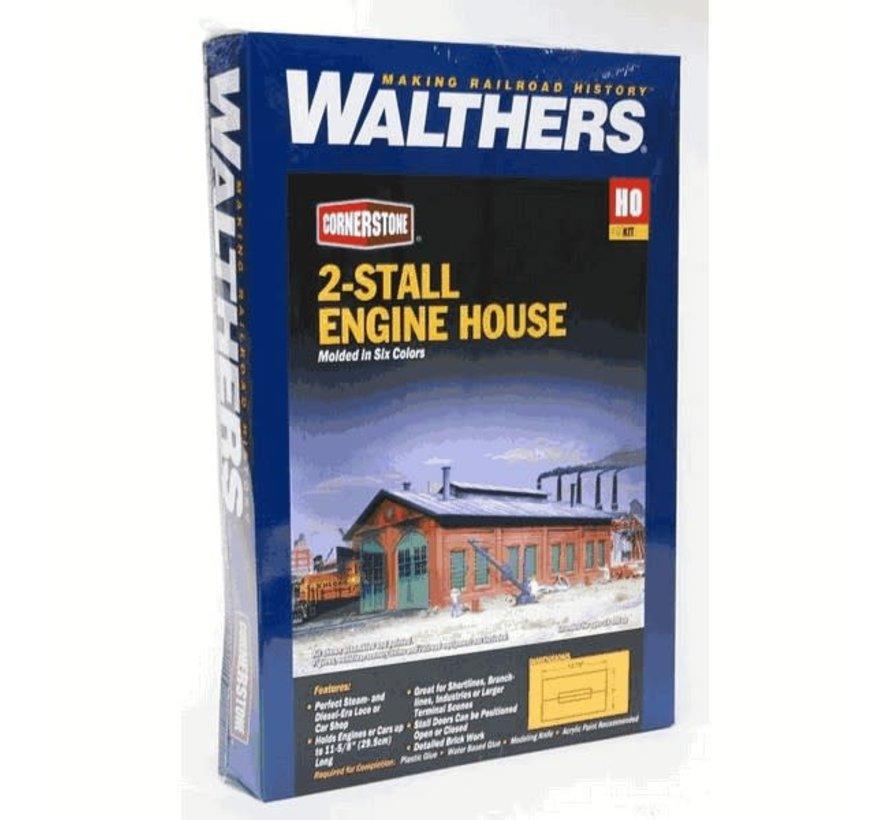 Walthers : HO 2-stall Engine house