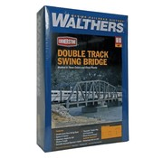 WALTHERS WALT-933-3088 - Walthers : HO Double Track Swing Bridge