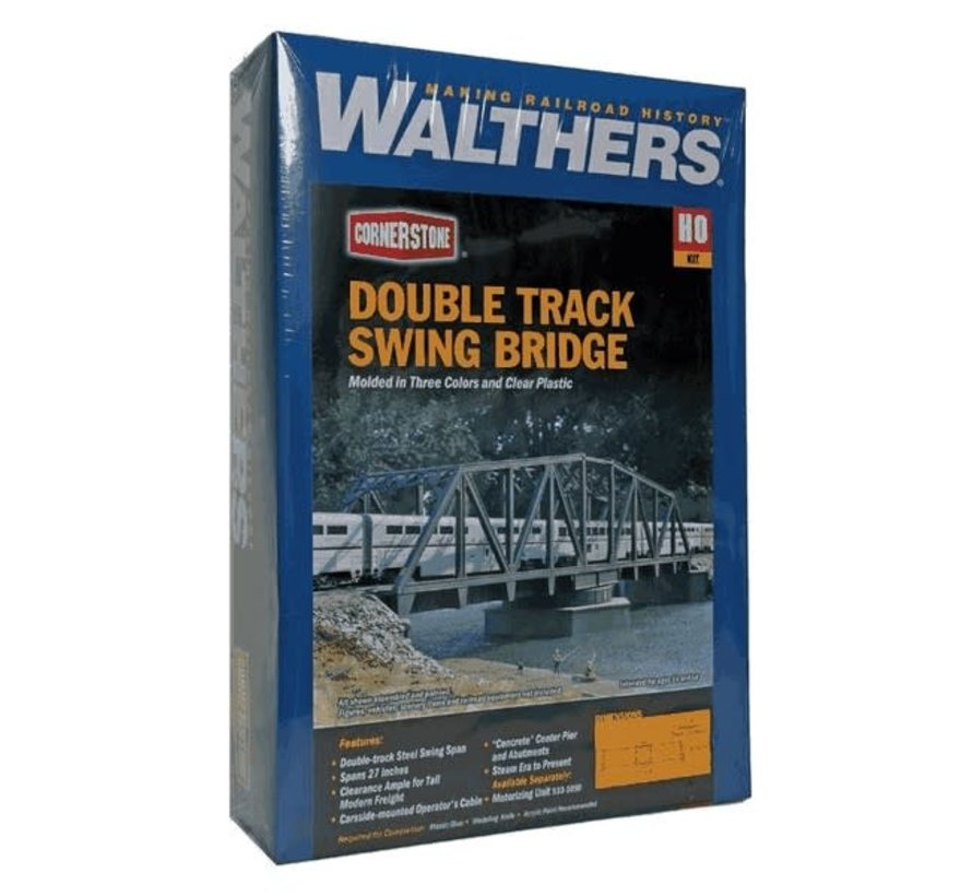 Walthers : HO Double Track Swing Bridge