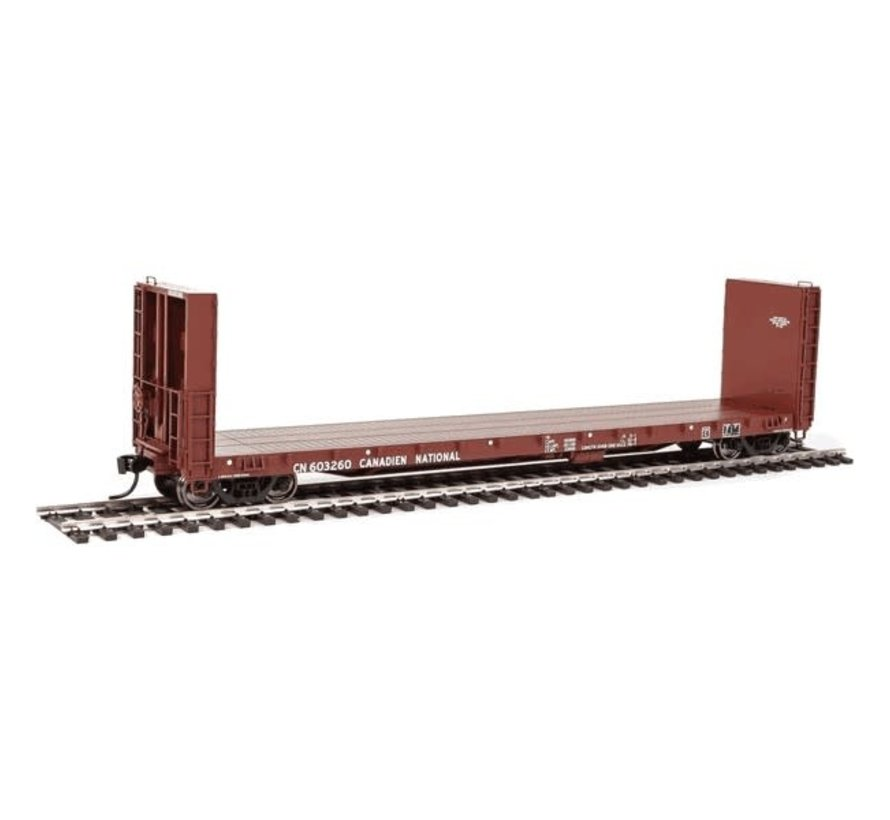 Walthers : HO CN 50' Bulk Flat car #603185