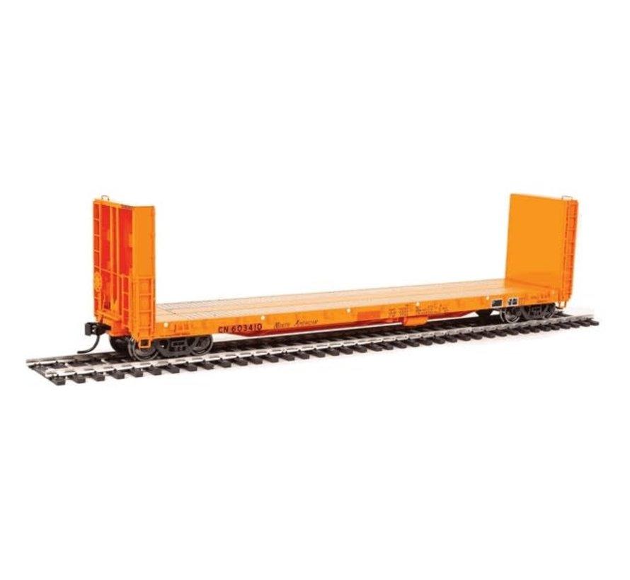 Walthers : HO CN 50' Bulk Flat car #603404