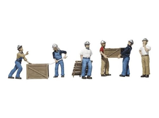 WOODLAND WDS-1823 - Woodland : HO Dock Workers