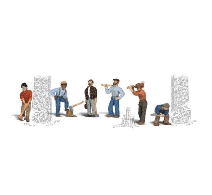Woodland : HO Lumberjacks