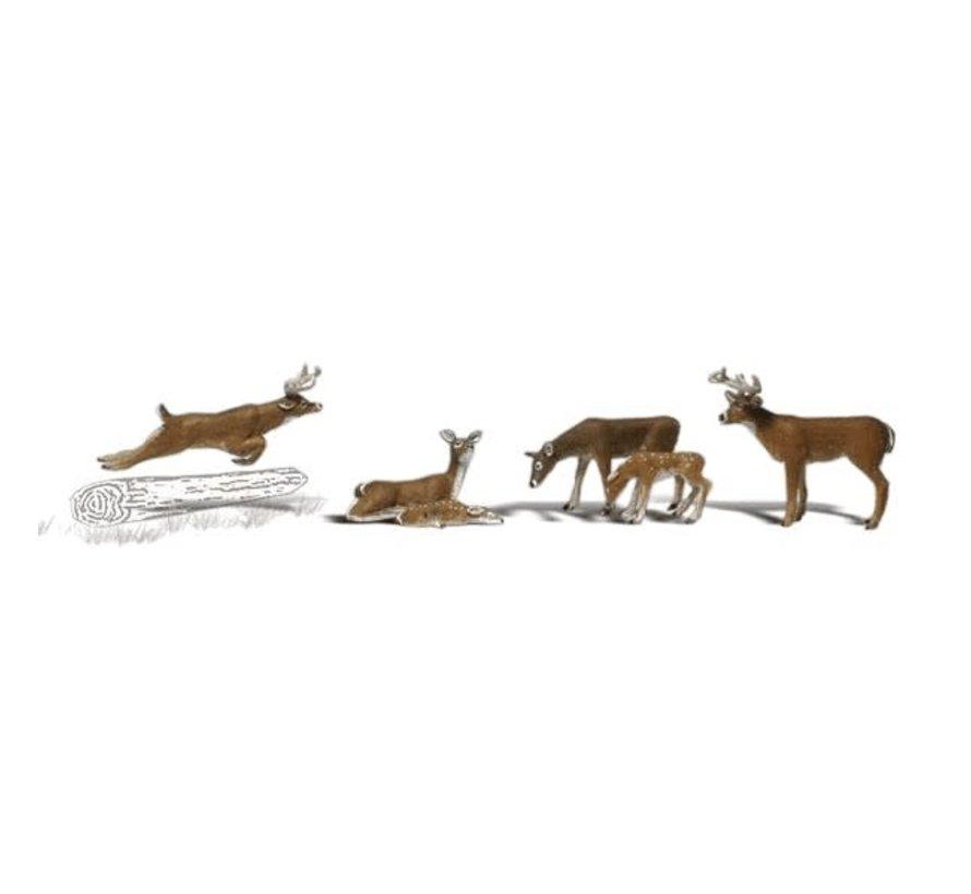 Woodland : HO Deers