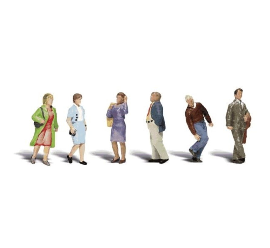 Woodland : HO People Walking