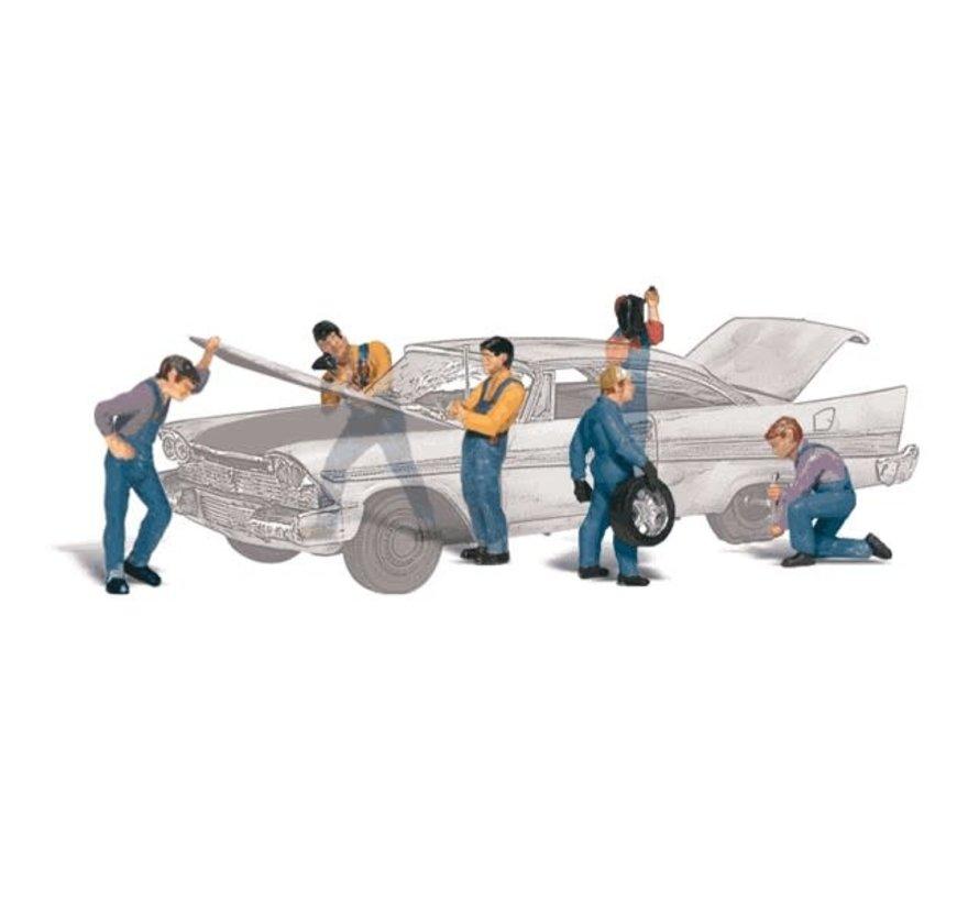 Woodland : HO Auto Mechanics