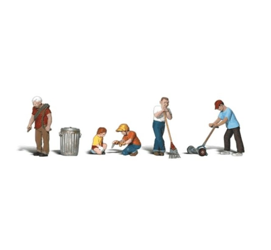 Woodland : HO Lawn Workers