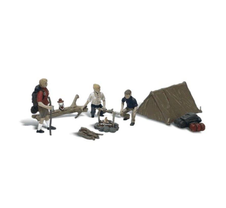 Woodland : HO Campers