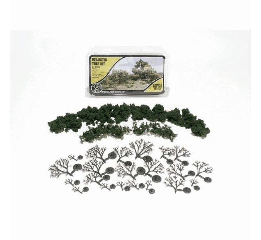 "Woodland : Realistic Tree Kits 3/4""""-3"