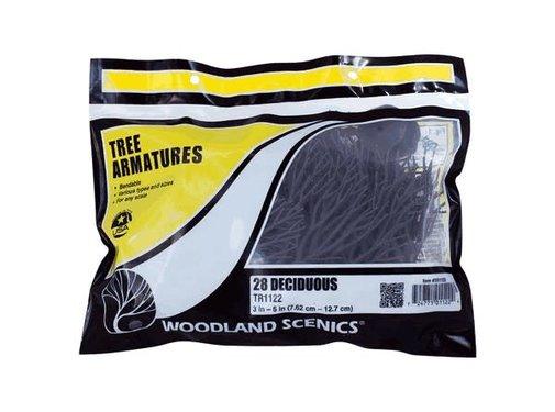 "WOODLAND WDS-1122 - Woodland : Tree Armatures 3""-5"" Deciduous"