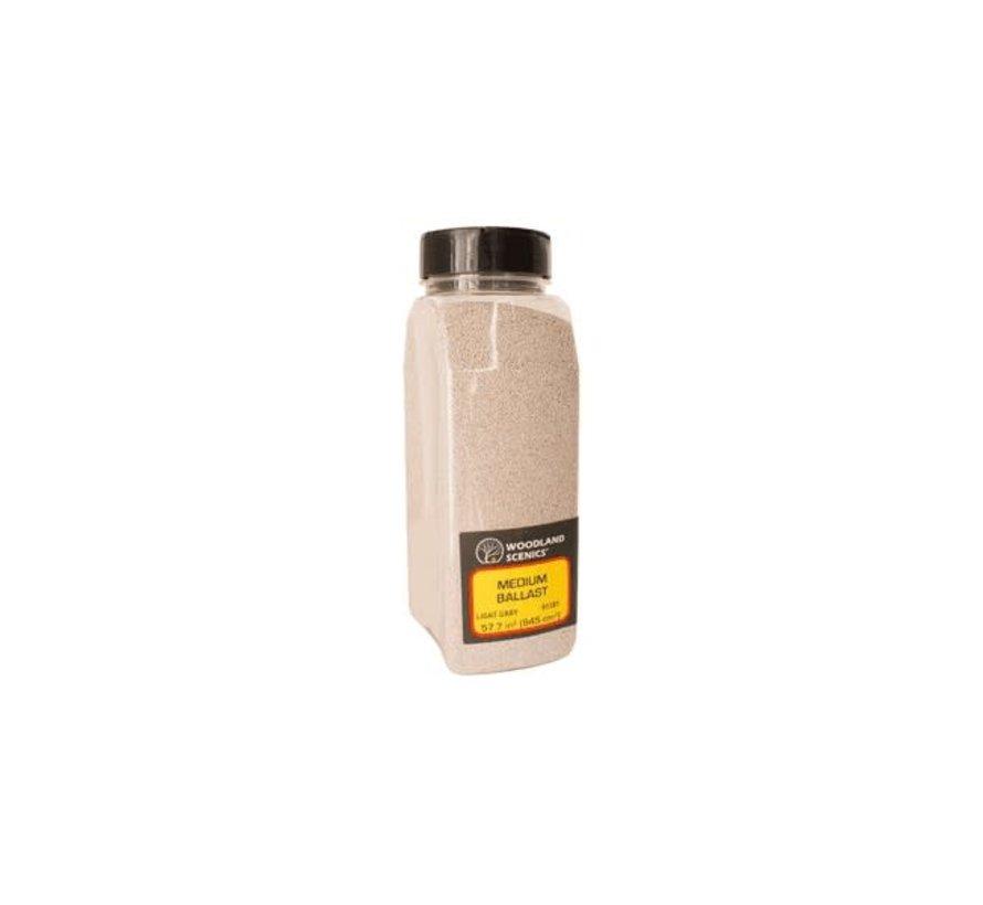 Woodland : Ballast Shaker Lt.Gray medium