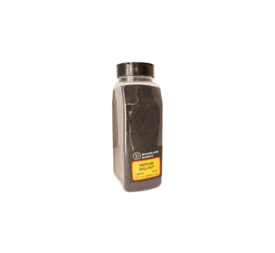 Woodland : Ballast Shaker Cinders medium