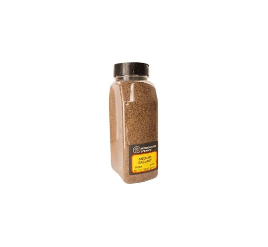 Woodland : Ballast Shaker Brown coarse