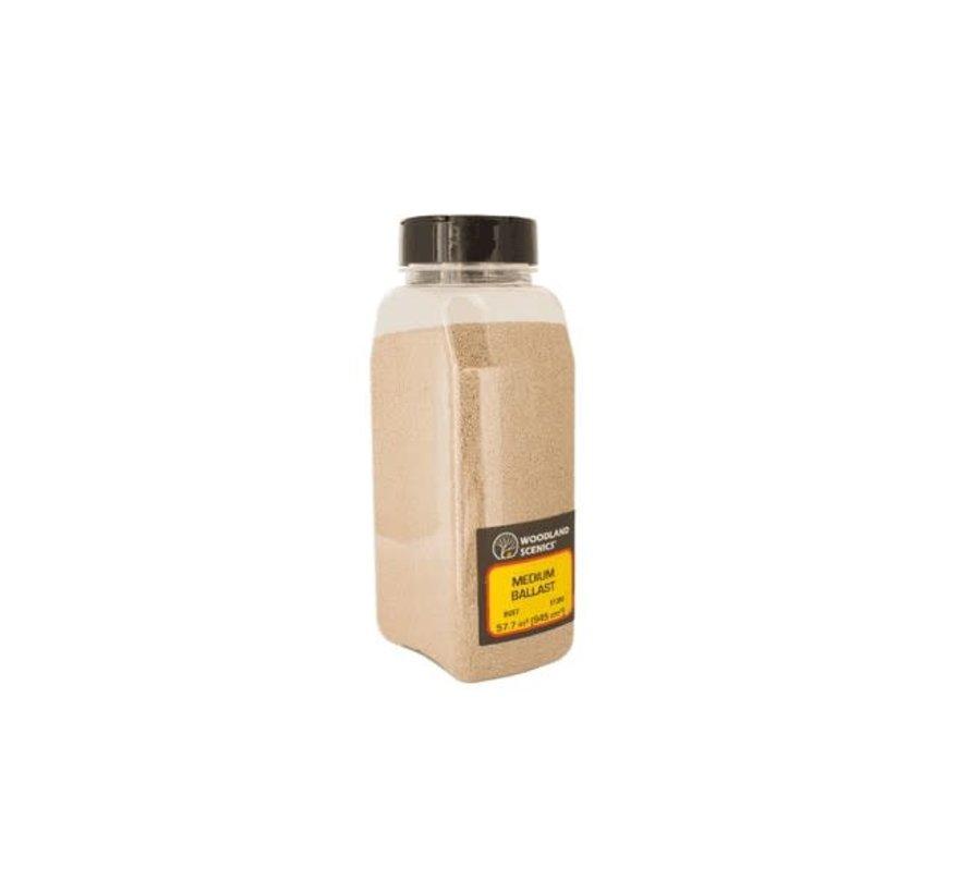 Woodland : Ballast Shaker Buff coarse