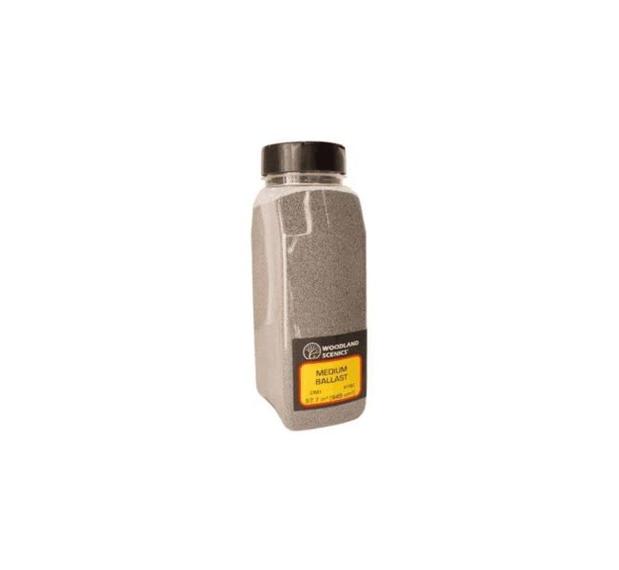 Woodland : Ballast Shaker Gray coarse