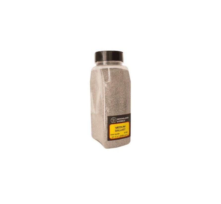 Woodland : Ballast Shaker Gray Blend fine