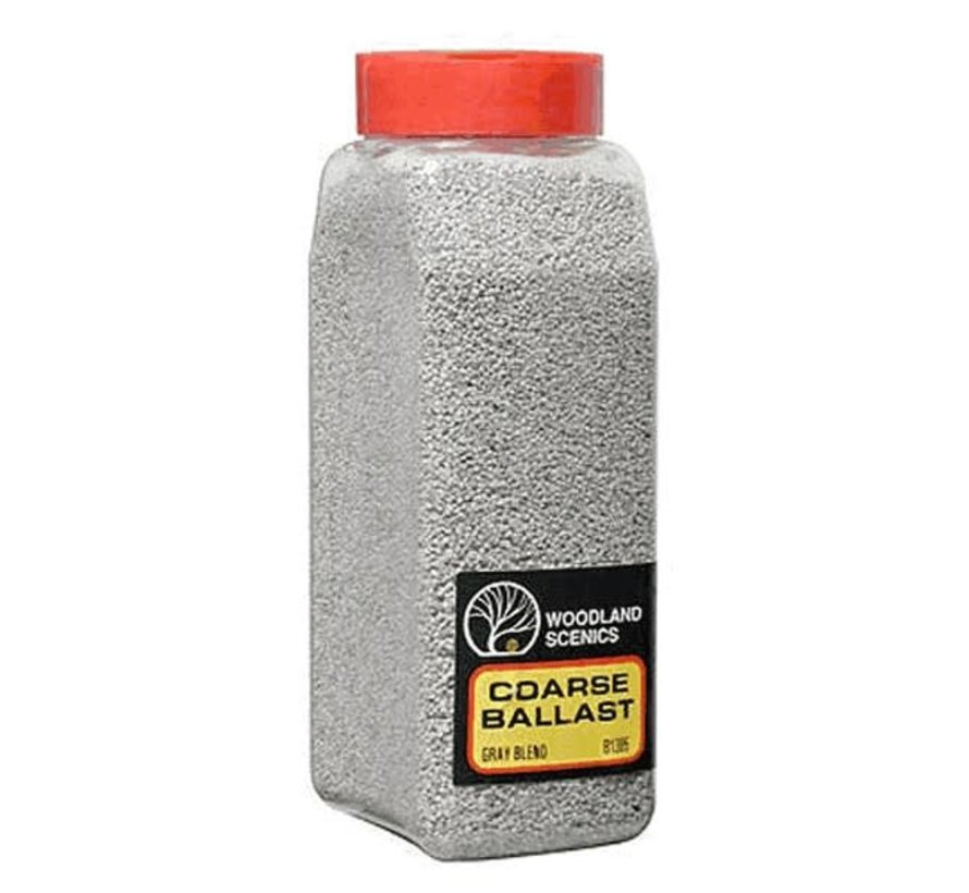 Woodland : Ballast Shaker Gray Blend coarse