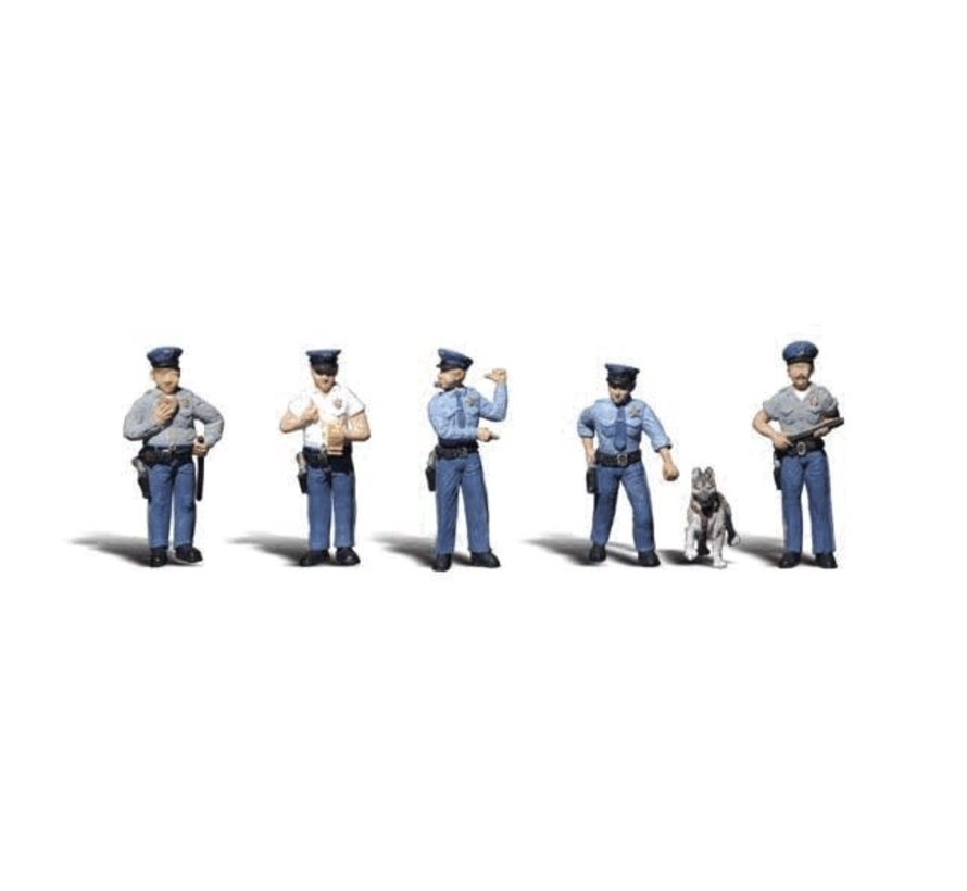 Woodland : N Policemen