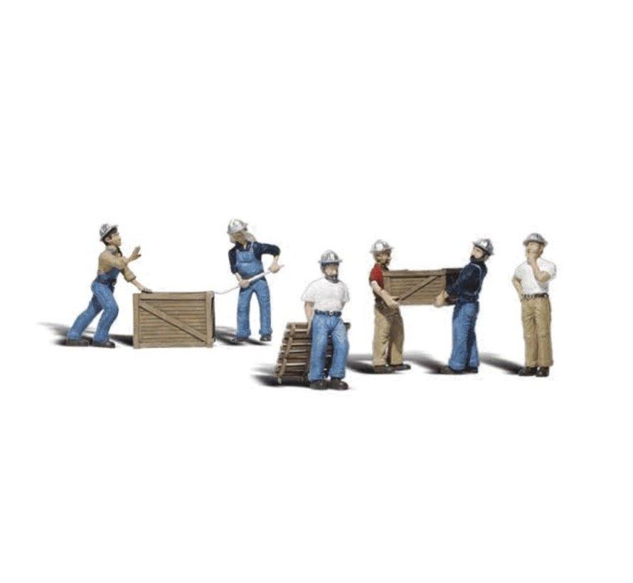 Woodland : N Dock Workers
