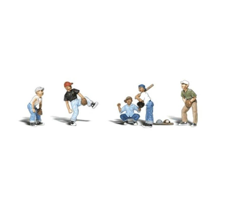 Woodland : N Baseball Players I